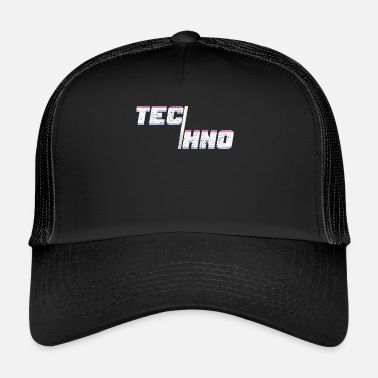 Techno Music Techno Music Minimal House - Trucker Cap