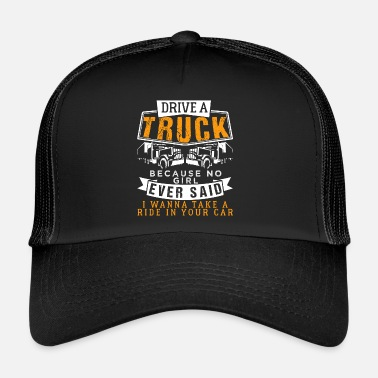 Drive A Truck Funny Trucker Quotes Beanie Spreadshirt
