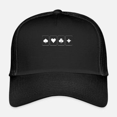 Poker Gioco di carte - Trucker Cap