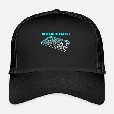 Dj SONO UN DJ DIGITALE - Cappello trucker
