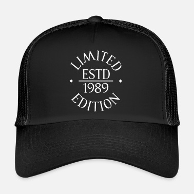 Established ESTD 1989 Födelsedag Edition - Trucker Cap