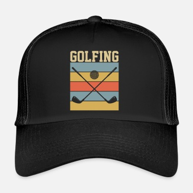 Golf Golf Golf - Trucker Cap