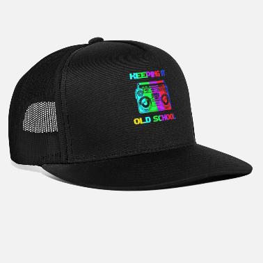 Hip Old School 80's 90's Hip Hop-cadeau - Trucker cap