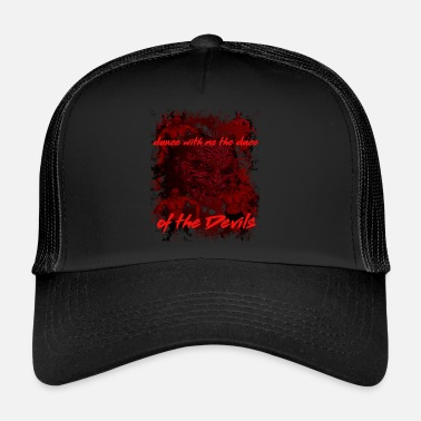 Nu Metal Devil, Satan, Evil, Devil, Black Metal, Heavy Metal, - Trucker Cap