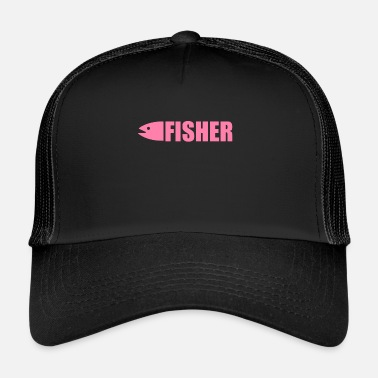 Fish Fishing fishing fishing fishing - Trucker Cap
