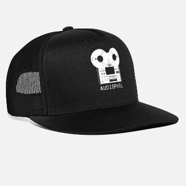 Analoge tape hi-fi vintage audiobandmachine - Trucker cap