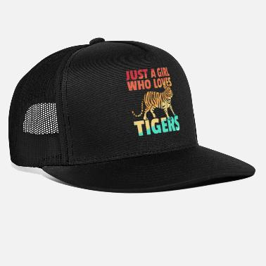 Indochinese Tiger big cat predator leopard retro - Trucker Cap