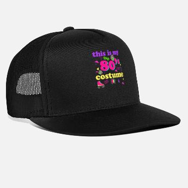 Cassette 80s costume Retro eighties throwback party outfit - Trucker Cap