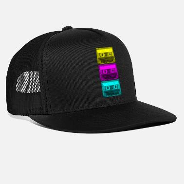 Tape Totally Rad Cassette Tape jaren 80 Vintage jaren 80 C - Trucker cap