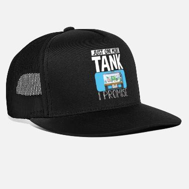 Beards Just One More Tank I Promise - Trucker Cap