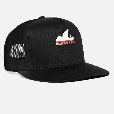 End Of The World Godzilla the monster - Trucker Cap