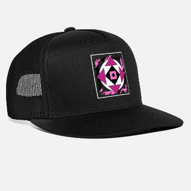 Graffiti Is Art Pink abstract art - Trucker Cap