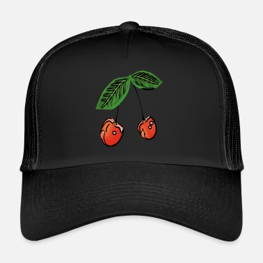 Fruit Cherry, fruit, fruit, - Trucker Cap