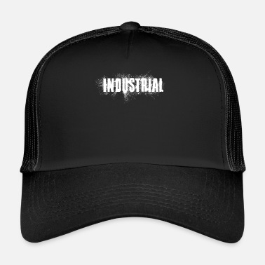 Acide Musique Industrial Idea Gift Effect Spray Techno - Trucker Cap