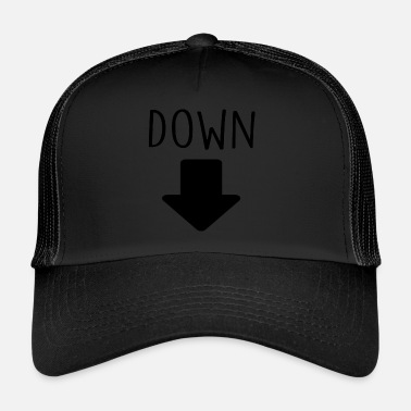 Down down - Trucker Cap