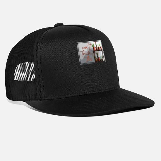 Gift Idea Caps & Hats - Can not touch this cactus women - Trucker Cap black/black