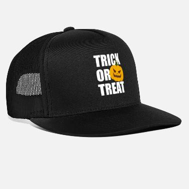 Halloween Trick or Treat Horror Pumpkin Pumpkin - Trucker cap