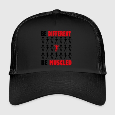 Be diffrent Be Shredded - Trucker Cap