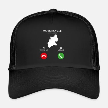 Mobile Phone Call Mobile Phone - Trucker Cap