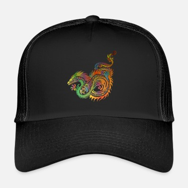 Dragón Chino dragón chino - Gorra trucker