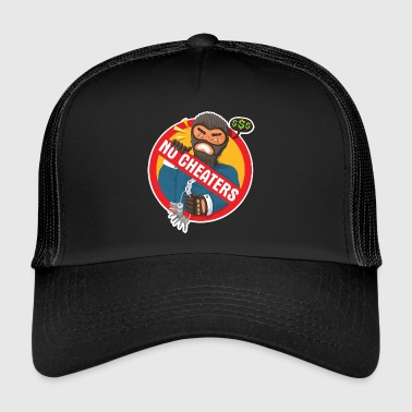 Cheating Cheating will not be tolerated - Trucker Cap