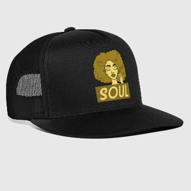 Anima afro - Trucker Cap