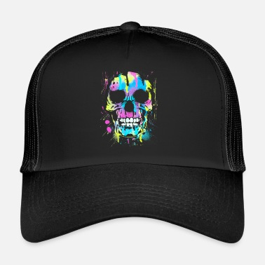 Deaths Head Painted head of death - Trucker Cap