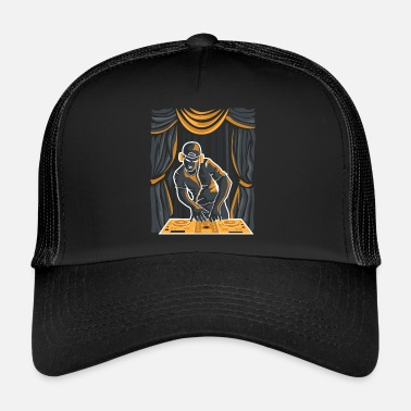 Deejay DJ on a stage - Trucker Cap