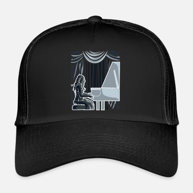 Stage Pianist on a stage - Trucker Cap