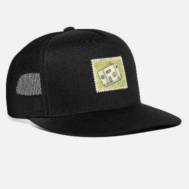 Stamp Collecting Traveler stamp collection - Trucker Cap