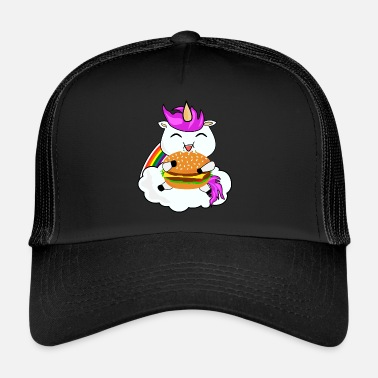 Unicorn Unicorn burger - Trucker Cap