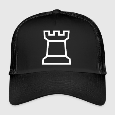 Rook chess chess piece board game gift - Trucker Cap