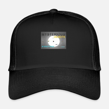 Mysterious Objects in Space - Shirts en meer - Trucker cap