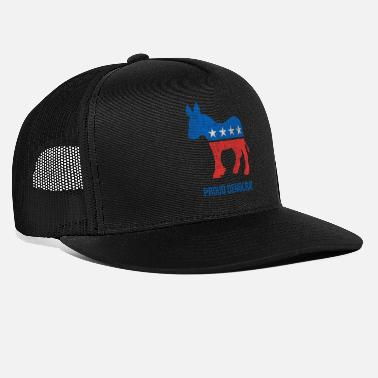 Democraat Vintage trotse democraat - Trucker cap
