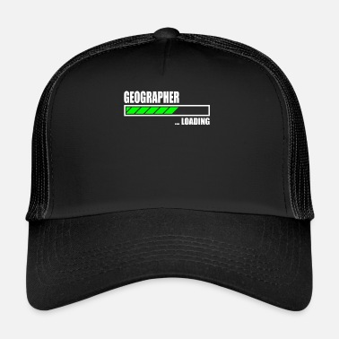 Geographic Geographer Loading Bar - Trucker Cap