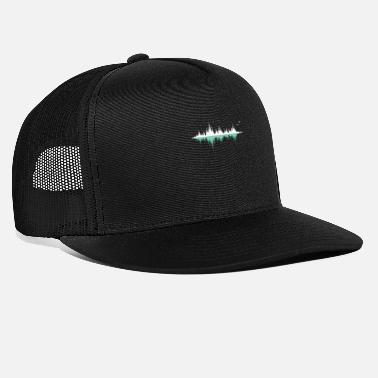 Waves Music audio wave / sound wave / audio frequency - Trucker Cap
