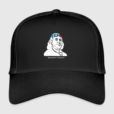 Benjamin Franklin American Patriot - Trucker Cap