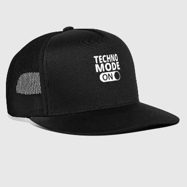 MODE SUR TECHNO - Trucker Cap