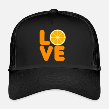Fruit Fruit / Fruit: Amour orange - Trucker Cap