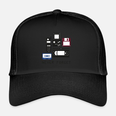 Nerd Neverforget Nerd Shirt - Trucker Cap