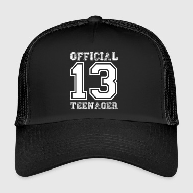 Teen Offisiell Teens 13th bursdagsgave - Trucker Cap