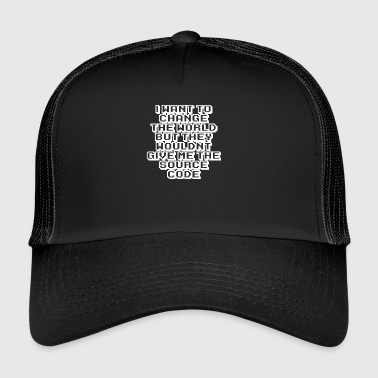Source Code - Trucker Cap