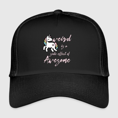 Weird strange unicorn - Trucker Cap