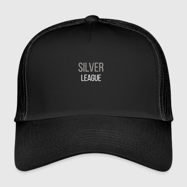 League Of Legends Tee Shirt lol Silver League Legends - Trucker Cap