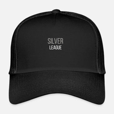 League Of Legends T-shirt lol Silver League Legends - Trucker Cap