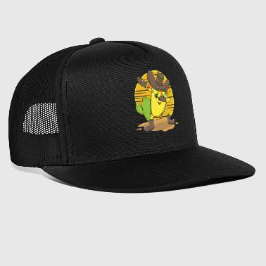 Dabbing Tacco mexican gift Christmas Kids - Trucker Cap