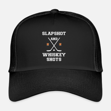 Whiskey Slapshot en Whiskey Shots - Trucker Cap