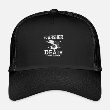 Bowhunter Cadeau Bowfisher - Bowfishing Bow Pêche - Trucker Cap