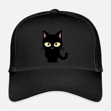 Cat Black cat - Trucker Cap