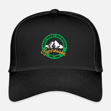 Established Park Narodowy Great Smoky Mountains Established - Trucker Cap